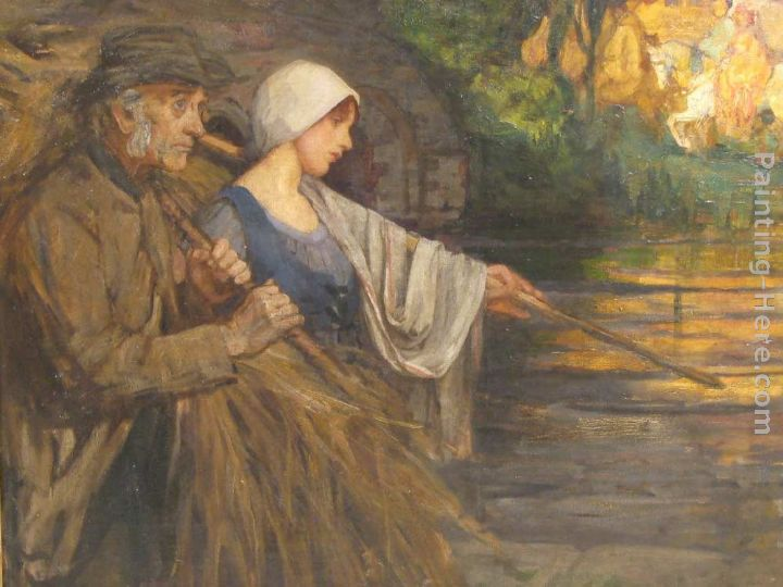 Life's Flowing Fortunes painting - Sir Hubert von Herkomer Life's Flowing Fortunes art painting