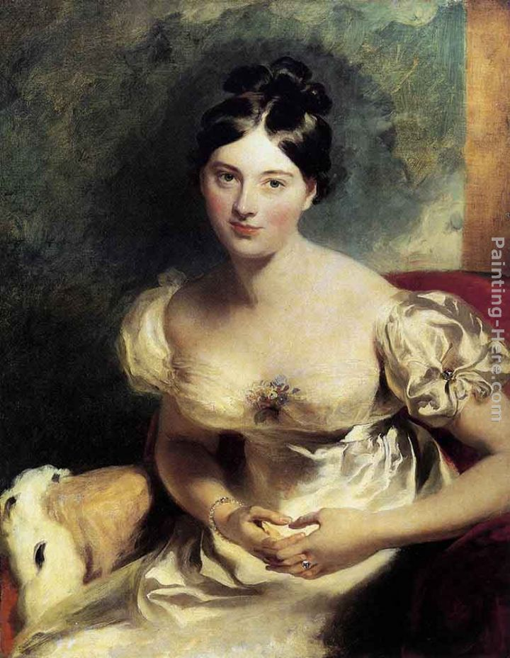 Sir Thomas Lawrence Margaret, Countess of Blessington Art Painting