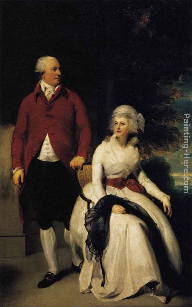 Mr and Mrs John Julius Angerstein painting - Sir Thomas Lawrence Mr and Mrs John Julius Angerstein art painting