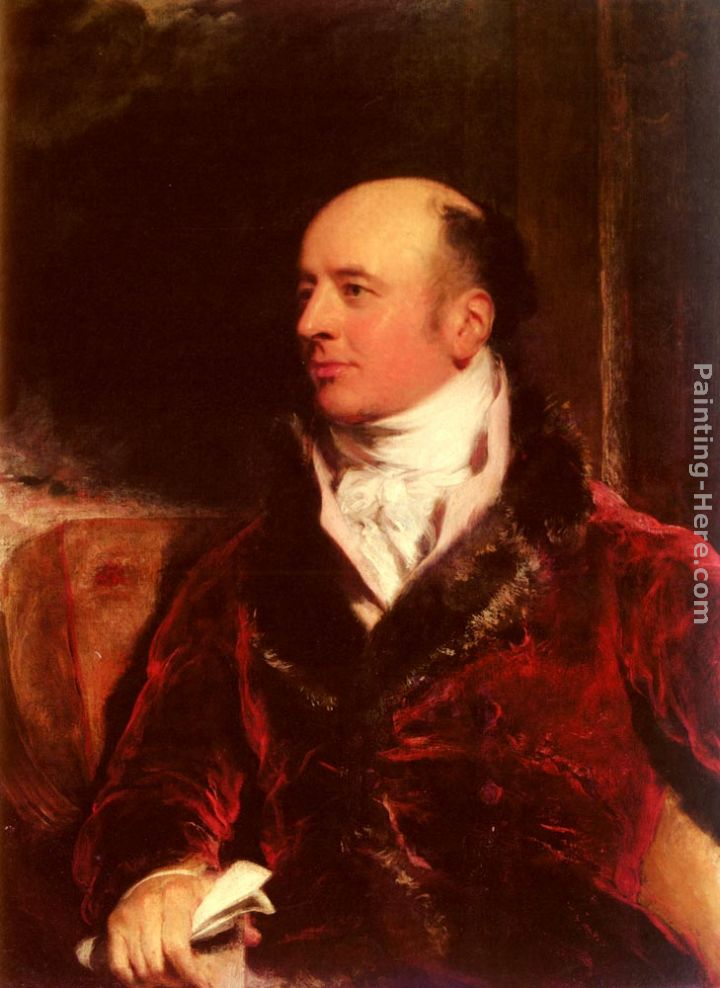 Portrait Of James Perry (1756 - 1821) painting - Sir Thomas Lawrence Portrait Of James Perry (1756 - 1821) art painting