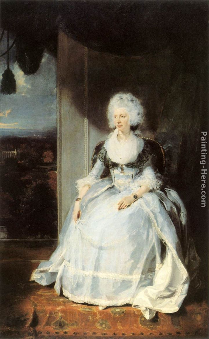 Queen Charlotte painting - Sir Thomas Lawrence Queen Charlotte art painting
