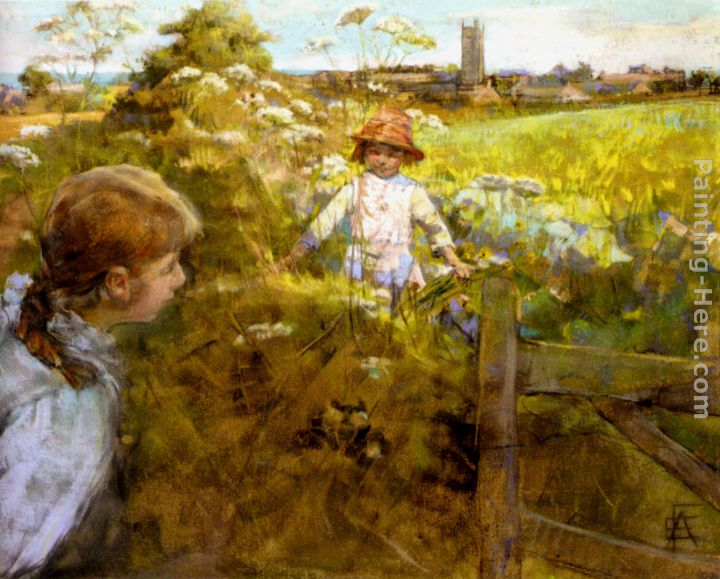 Stanhope Alexander Forbes Hide And Seek Painting Anysize