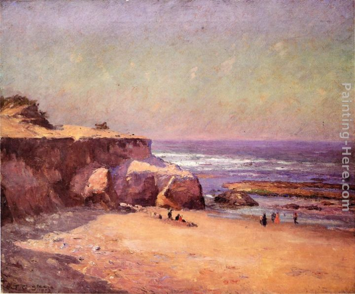 On the Oregon Coast painting - Theodore Clement Steele On the Oregon Coast art painting