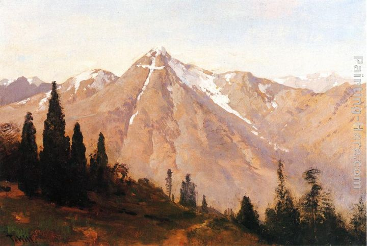 Thomas Hill Mountain of the Holy Cross Art Painting