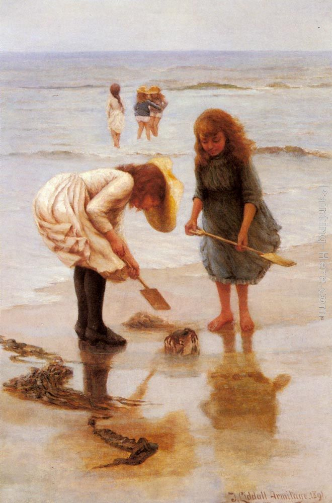 When We Were Young painting - Thomas Liddall Armitage When We Were Young art painting