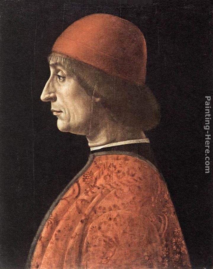 Portrait of Francesco Brivio painting - Vincenzo Foppa Portrait of Francesco Brivio art painting