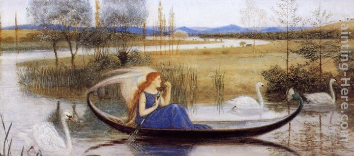 Walter Crane My Soul is an Enchanted Boat... Art Painting