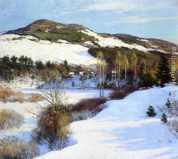Cornish Hills painting - Willard Leroy Metcalf Cornish Hills art painting