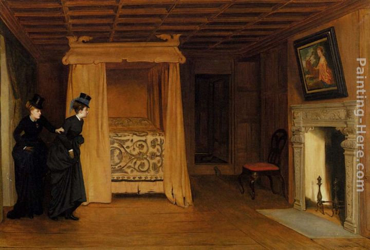 A Visit To The Haunted Chamber painting - William Frederick Yeames A Visit To The Haunted Chamber art painting