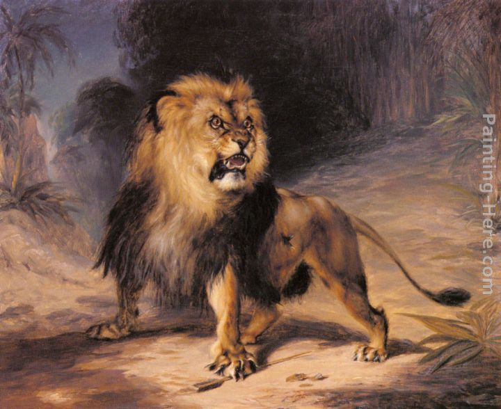william huggins a lion painting anysize 50 off a lion painting