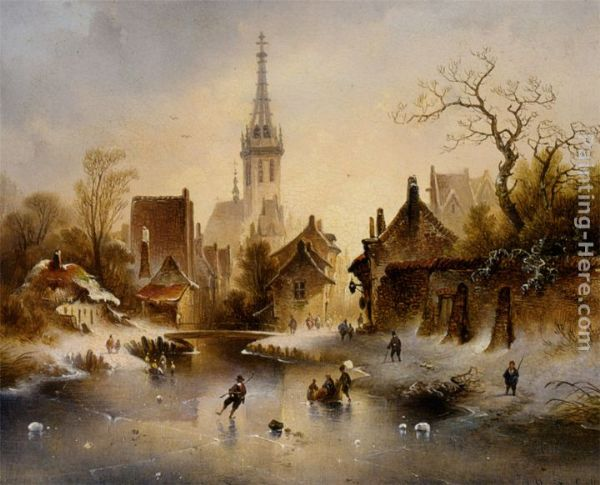 Charles Van Den Eycken Paintings All Charles Van Den
