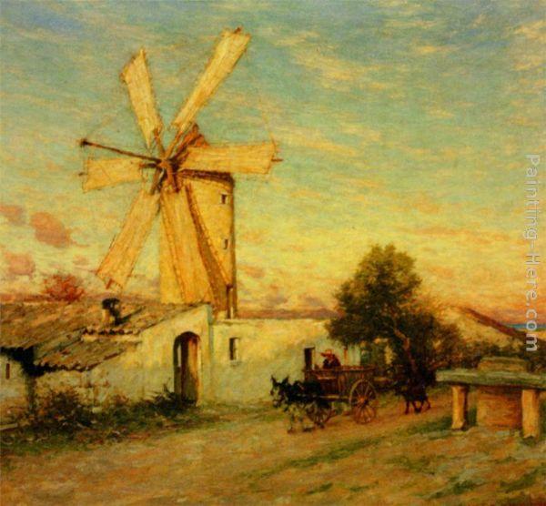 Henry Herbert La Thangue Paintings All Henry Herbert La