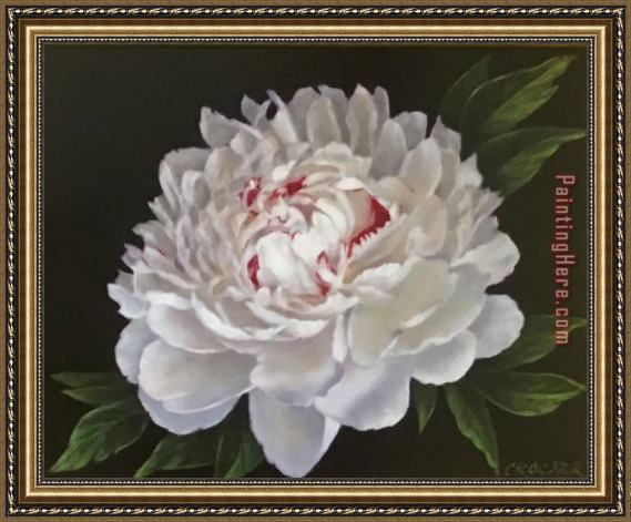 2017 new Peony1 Framed Painting