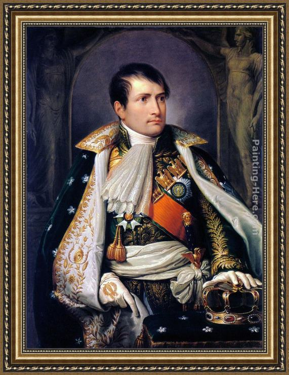Andrea I Appiani Napoleon, King of Italy Framed Painting for sale ...