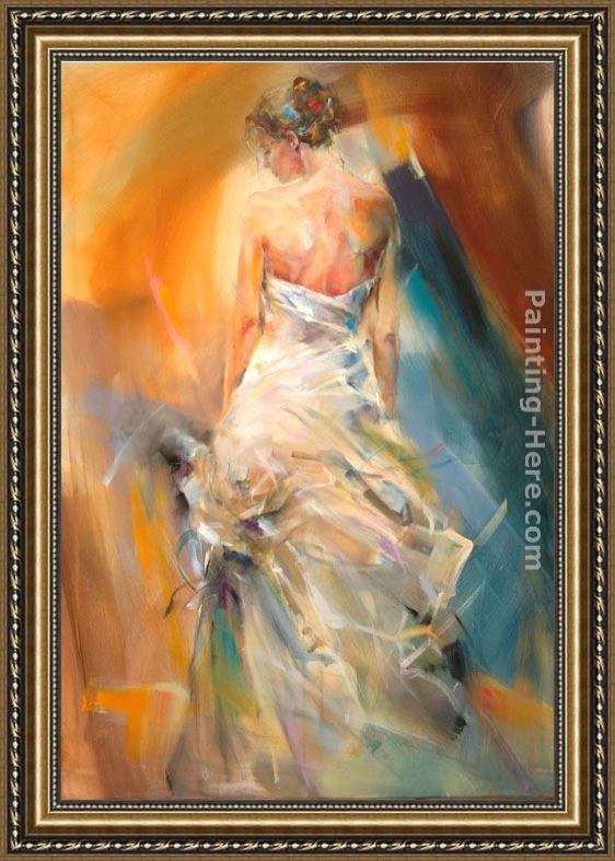 Anna Razumovskaya The Night Flower Framed Painting