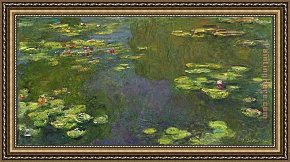 Claude monet le bassin aux nympheas framed painting for sale - Le bassin aux nympheas ...