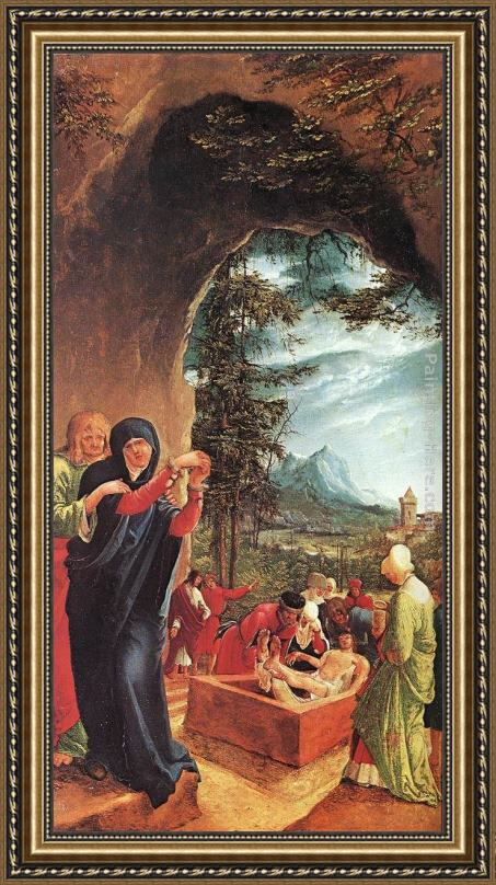 Denys van Alsloot The Entombment Framed Painting