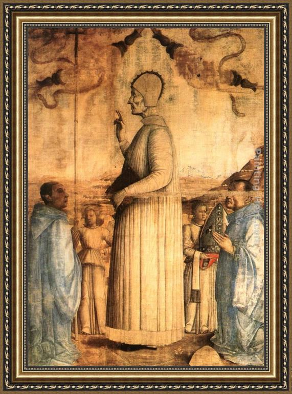 Gentile Bellini The Blessed Lorenzo Giustiniani Framed Painting