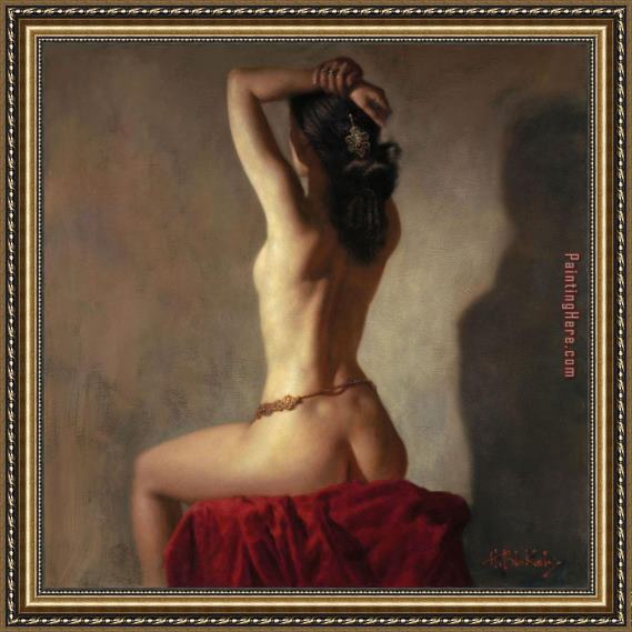 Hamish Blakely Delilah's Lullaby Framed Painting