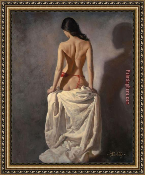 Hamish Blakely Inamorata Framed Painting