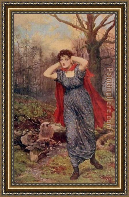 John Collier Hetty Sorrell Framed Painting