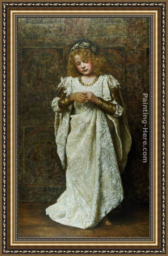 John Collier The Child Bride Framed Painting