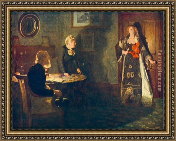 John Collier The Prodigal Daughter Framed Painting