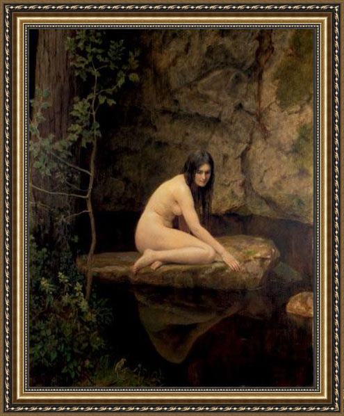 John Collier The Water Nymph Framed Painting