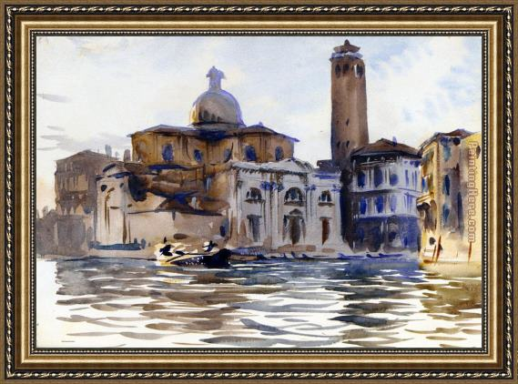 John Singer Sargent Palazzo Labbia Venice Framed Painting