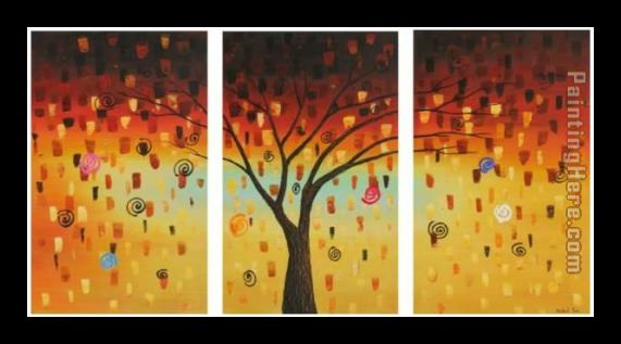 landscape Tree's Dreams Framed Painting