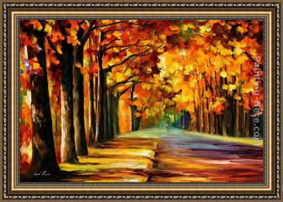 leonid afremov oak alley framed painting