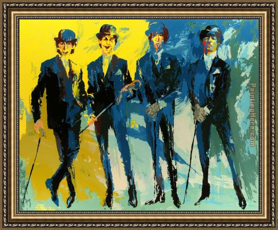 Leroy Neiman The Beatles Framed Painting for sale - PaintingHere.com