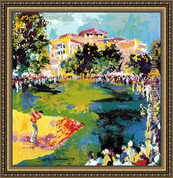 Leroy Neiman Westchester Classic Framed Painting