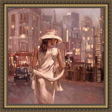 Mark Spain Timeless Beauty Framed Painting