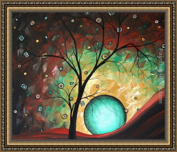 Megan Aroon Duncanson Pinpoint Framed Painting