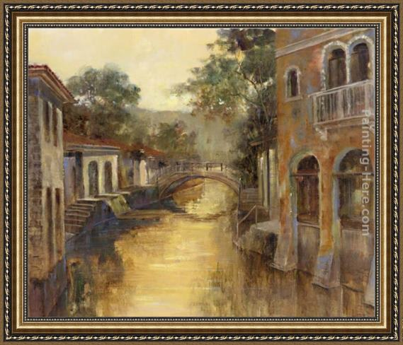 Michael Longo Afternoon River Framed Painting