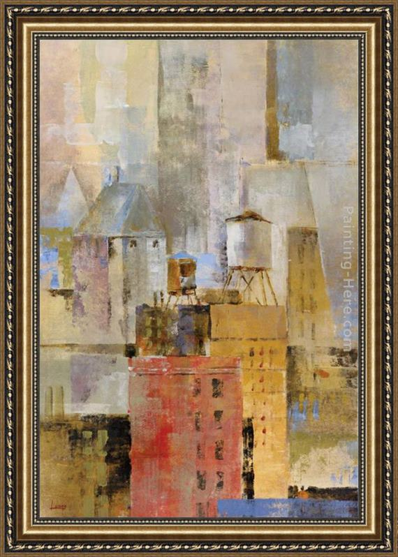 Michael Longo Water Tower I Framed Painting