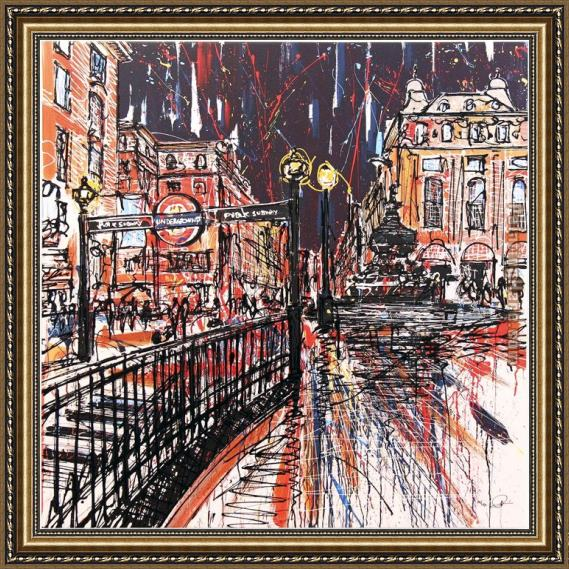 Paul Kenton Piccadilly Passion Framed Painting