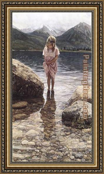 Steve Hanks Natures Beauty Framed Painting