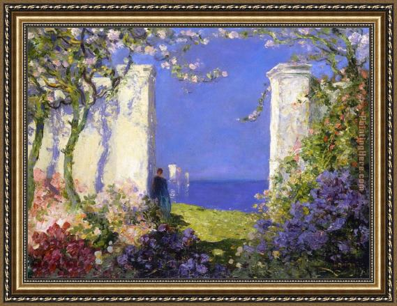 Tom Mostyn A Magical Morning Framed Painting