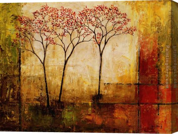 2010 Mike Klung Morning Luster II Stretched Canvas Painting