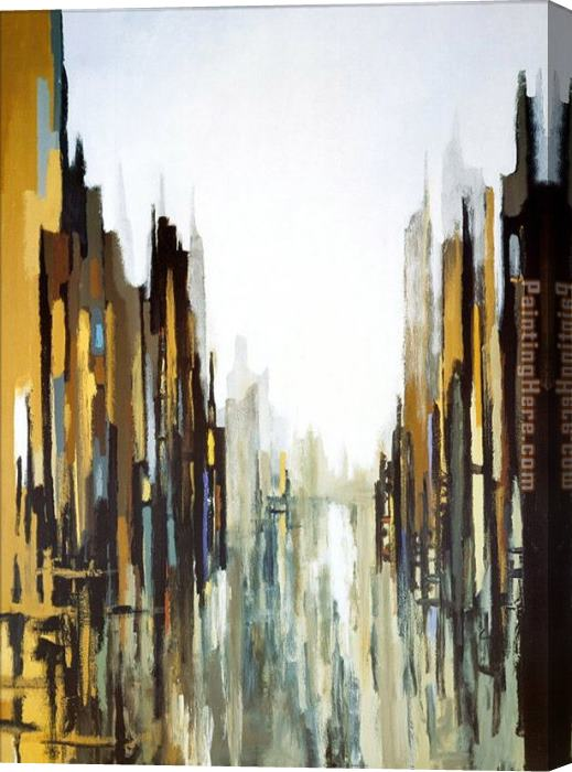 2010 Urban Abstract No. 141 Stretched Canvas Painting