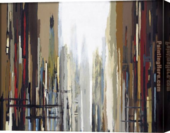 2010 Urban Abstract No. 159 Stretched Canvas Painting