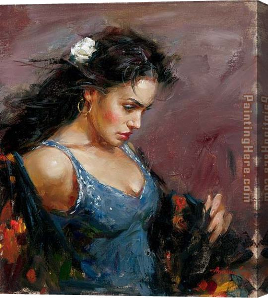 Andrew Atroshenko Gypsy Stretched Canvas Painting