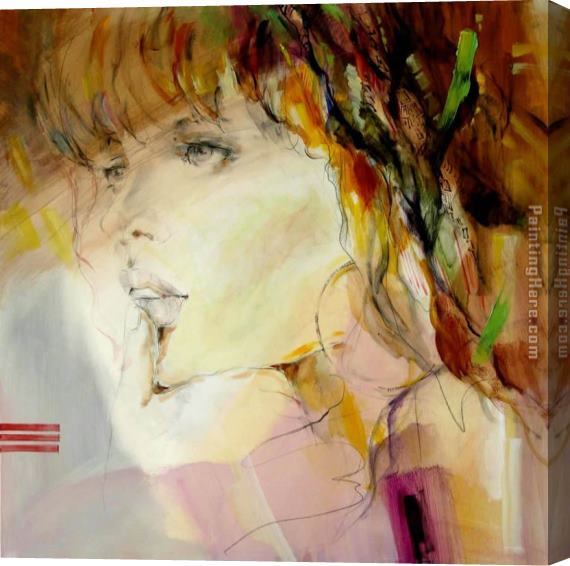 Anna Razumovskaya Scent of a Woman 2 Stretched Canvas Painting