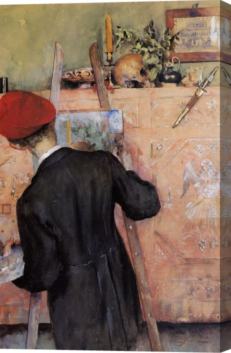 Carl Larsson The Still Life Painter Art Painting for sale ...