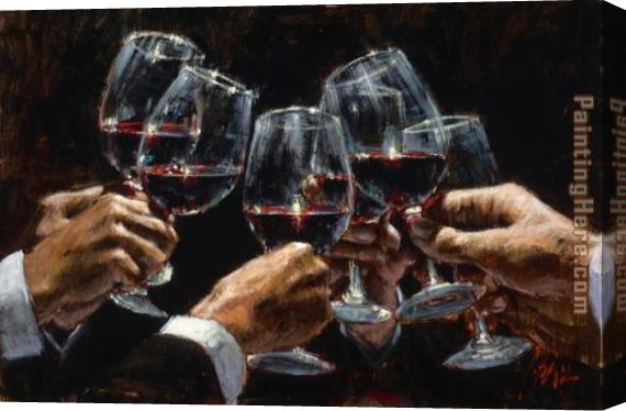 Fabian Perez FOR A BETTER LIFE VI Stretched Canvas Painting