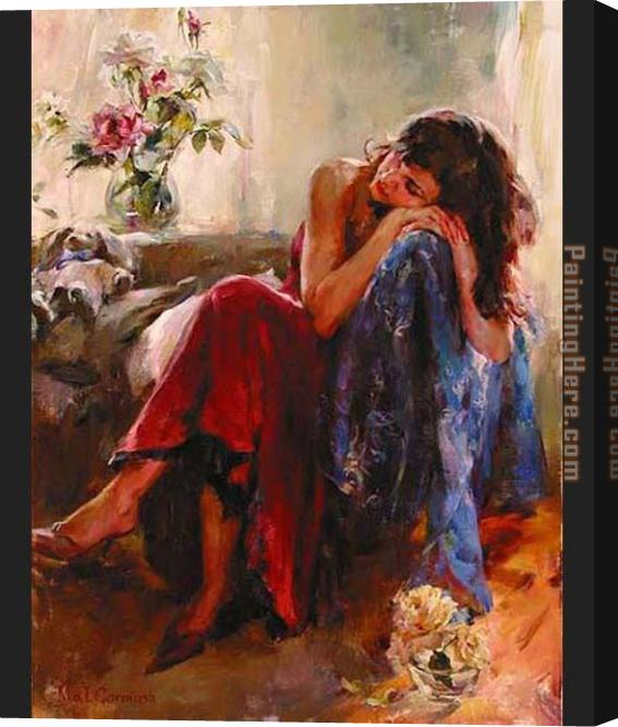 Garmash Dreaming of Love Stretched Canvas Painting