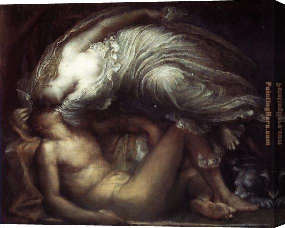 George Frederick Watts Endymion Stretched Canvas Painting