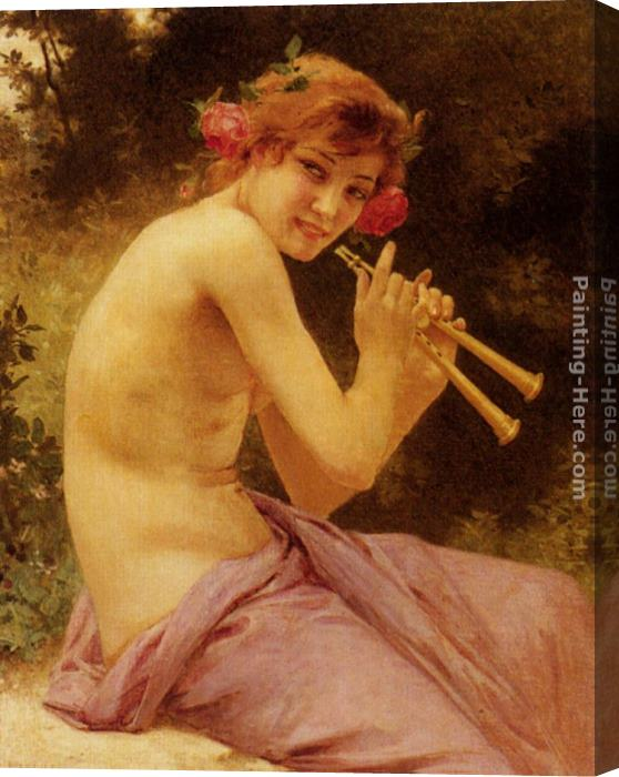 Guillaume Seignac Fuanesse Stretched Canvas Painting